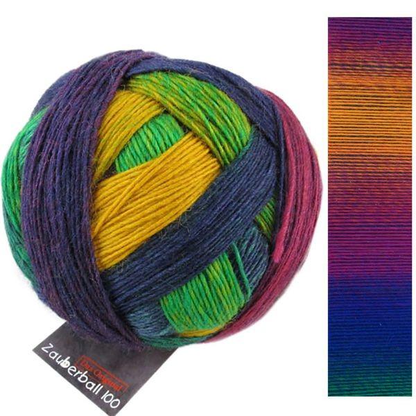 """Zauberball 100 von Schoppel 100g  Farbe 2249 /""""Teezeremonie/""""  Wolle"""