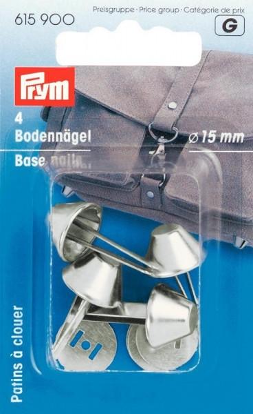Bodennägel für Taschen Ø 15mm silberfarben PRYM 615900