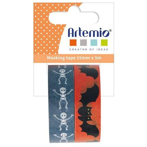 "Klebebänder 2er Set Masking Tape ""Halloween"""