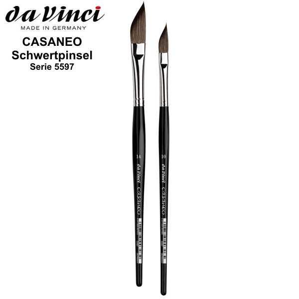 Aquarellpinsel CASANEO Schwertpinsel, Serie 5597