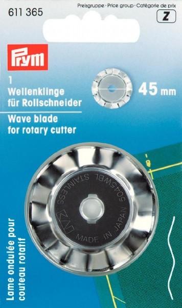 Wellen-Ersatzklinge für Rollschneider 45mm PRYM 611365