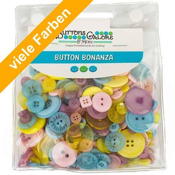 Button Bonanza Knöpfe in vielen Farben