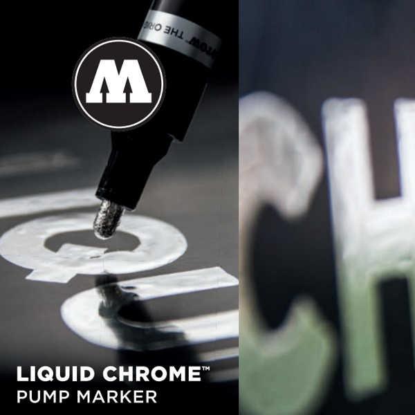 MOLOTOW Liquid Chrome Marker ► Mirror Effect ◄