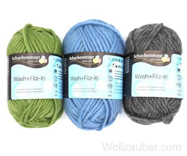 Filzwolle Schachenmayr Wash+Filz-it! 50g