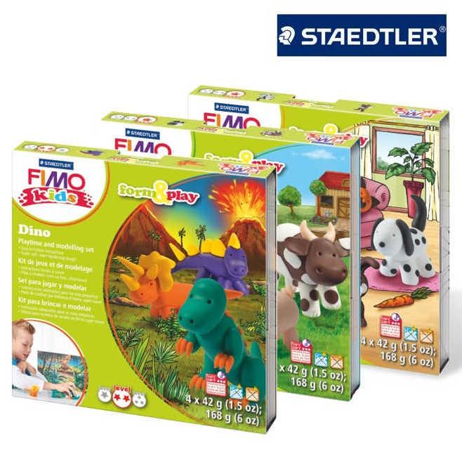 FIMO kids Form & Play 4 x 42 g Set
