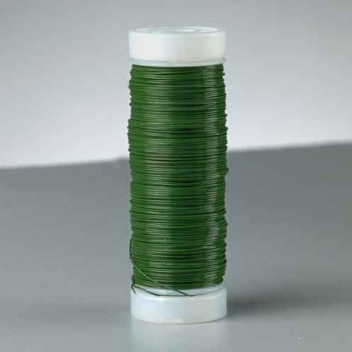 Bindedraht Ø 0,35 mm, ca. 125m grün