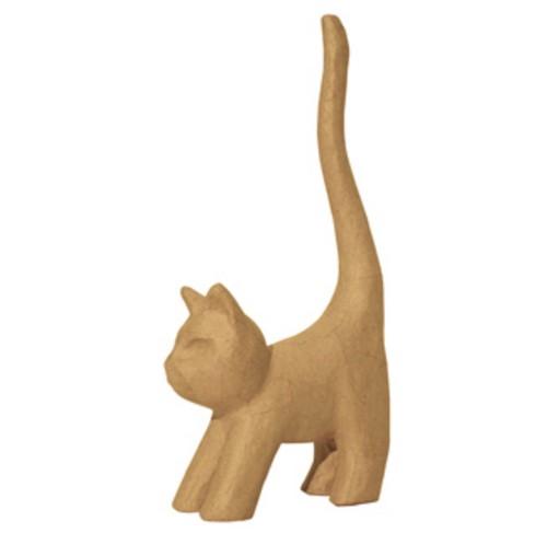 Décopatch PappArt Katze stehend Größe M