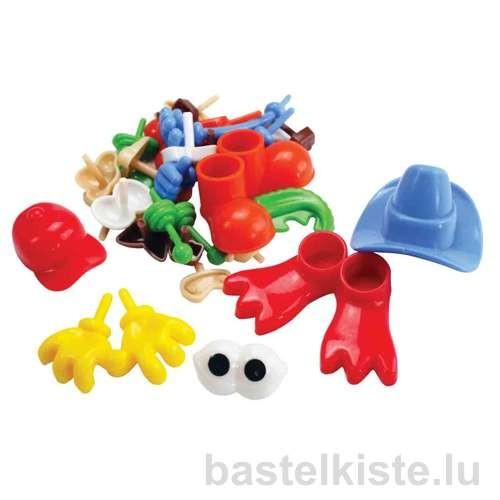 Accessoires für Modellierte Figuren, 26-teilig