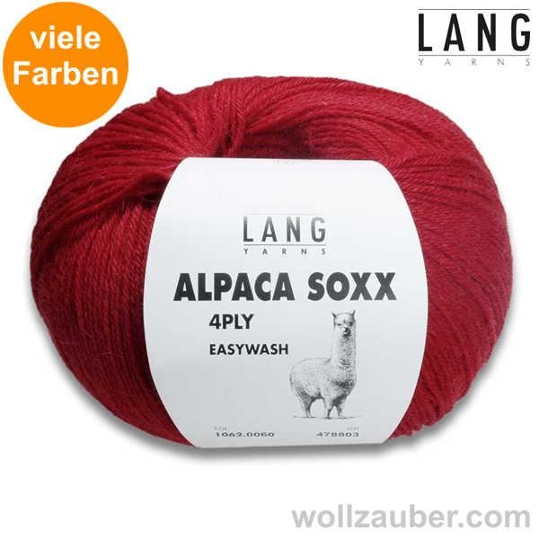 Lang Yarns ALPACA SOXX 4-FACH, 4-PLY 100g