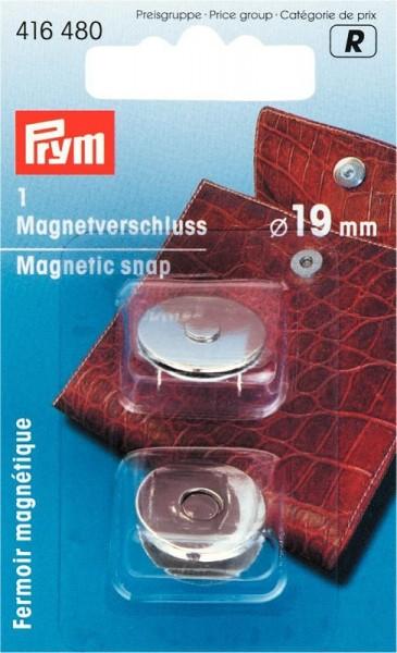 Magnetverschluß 19mm silberfarben PRYM 416480