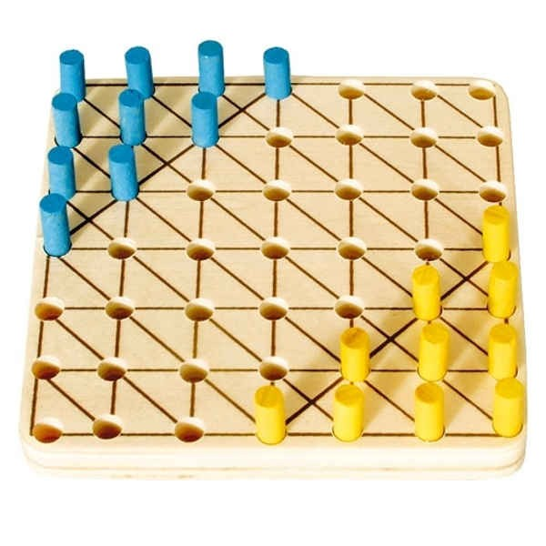 "Mini Game ""HALMA"" 9 x 9 cm"