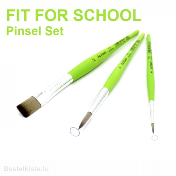 Da Vinci FIT FOR SCHOOL Synthetics Allrounder Pinsel-Set