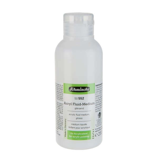 Schmincke Acryl Fluid-Medium 250ml ►glänzend◄