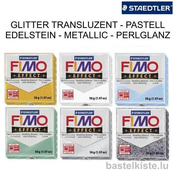 FIMO EFFECT 57g - Ofenhärtende Modelliermasse