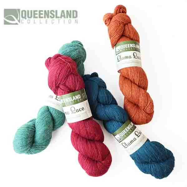 Queensland Llama Lace Melange 100g