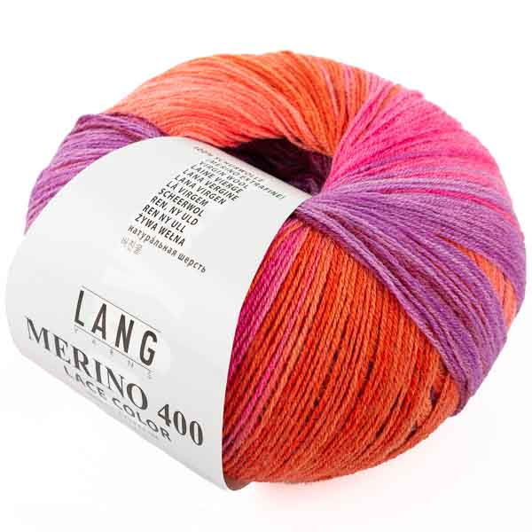 MERINO 400 LACE COLOR von LANG YARNS