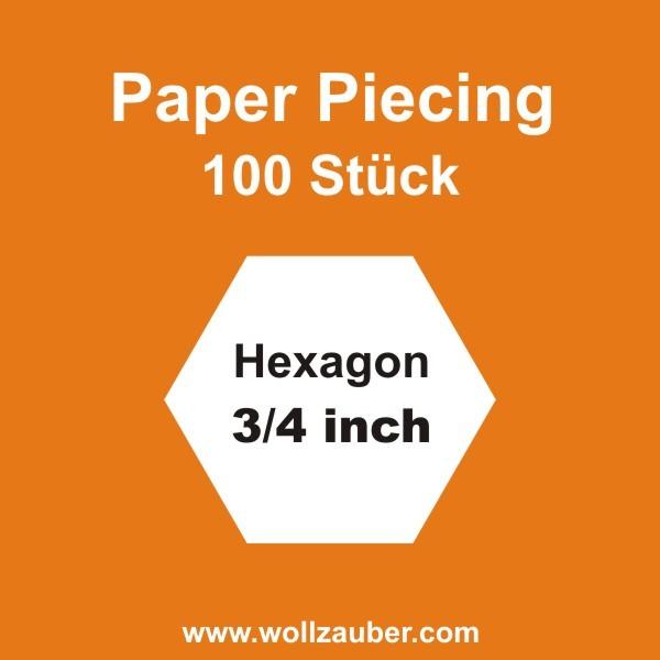 Templates Paper Hexagon 0,75 inch