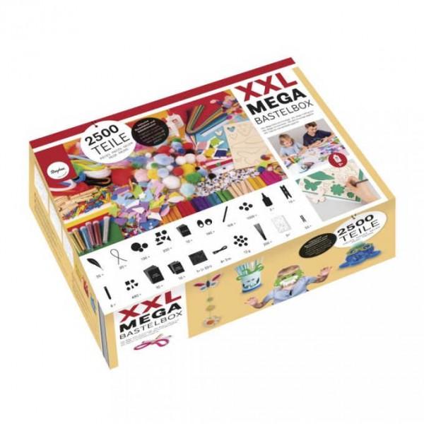XXL MEGA Bastelbox mit 2500 Teilen