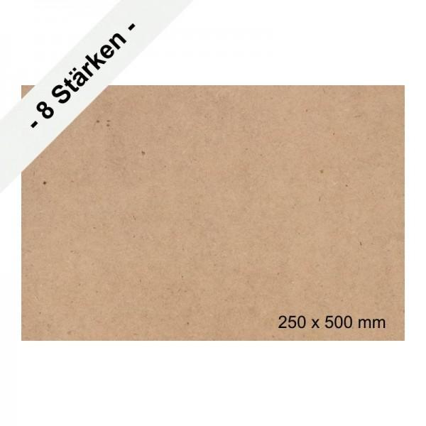 MDF-Platten 500 x 250 mm