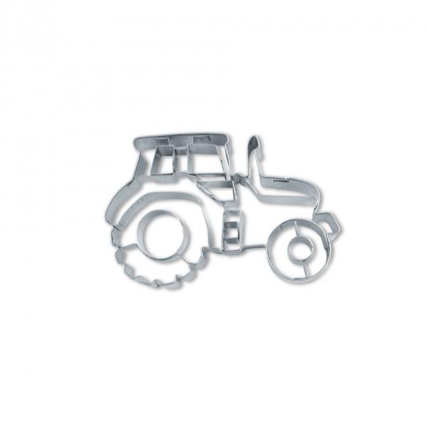 Präge-Ausstechform Traktor 7,5 cm aus Edelstahl