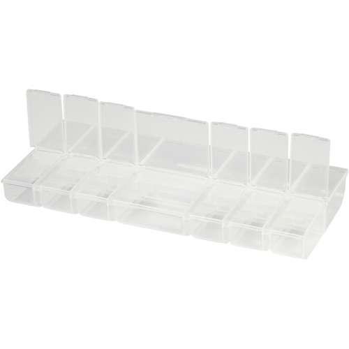 Sortierbox, Kunststoffbox 14 Fächer, 24x11x2,8 cm