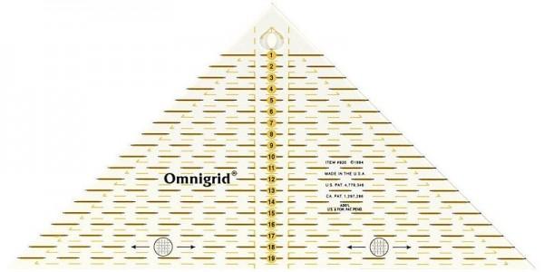 Dreieck Lineal 20 cm