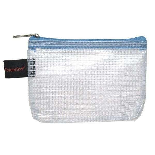 Foldersys Kleinkram-Beutel A7 transparent / RV türkis