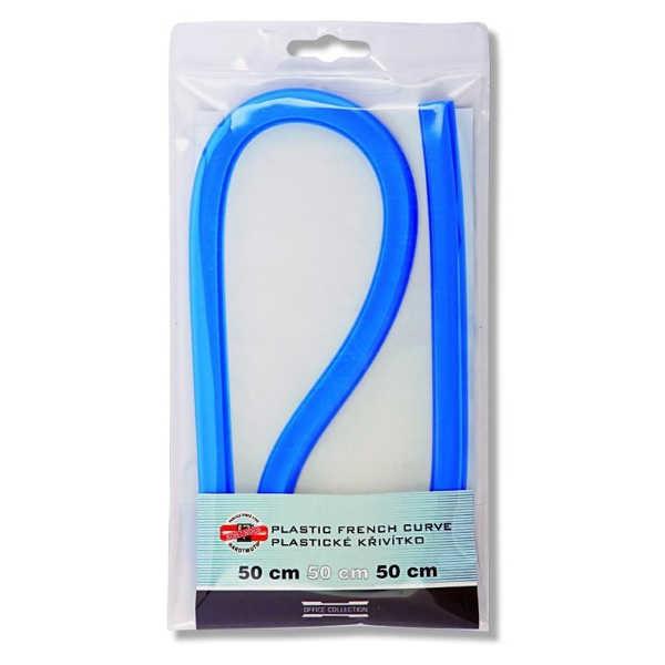 Kurvenlineal 50 cm, flexibel