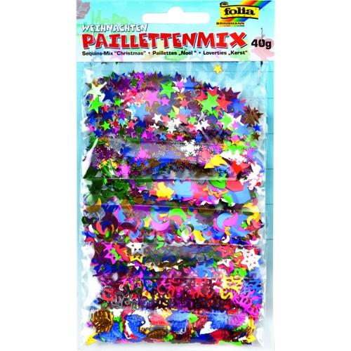 """Paillettenmix 40g """"Weihnachten"""""""